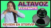 Altavoz flotante Bluetooth táctil y rotación de 360 grados UPPEL